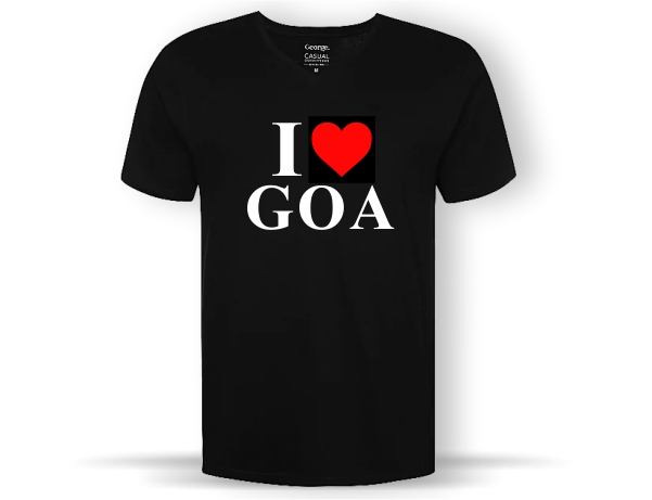 I Love Goa TShirt