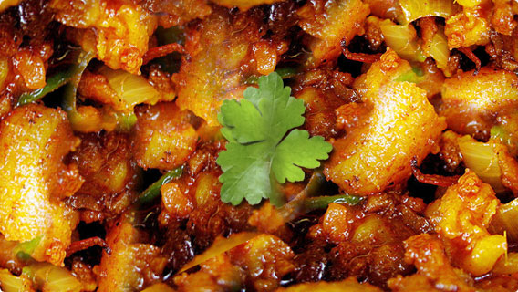 Goa Sausage Chilli Fry